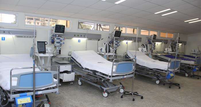 Philips Rehabilitates Machakos ICU