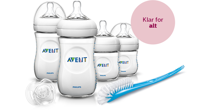 Startsett for Philips Avent-tåteflaske