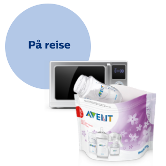 Philips Avent-sterilisatorpose for mikrobølgeovn