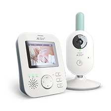 Babymonitor med video fra Philips Avent