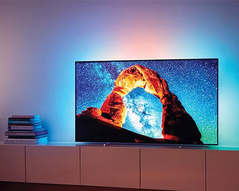 Vis Philips OLED 4K-TV