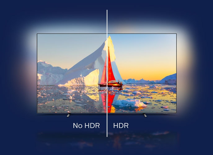 Philips HDR OLED-TV med HDR10+