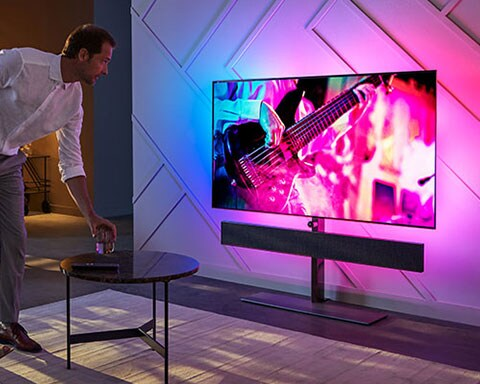 Opplev Philips Ambilight-TV